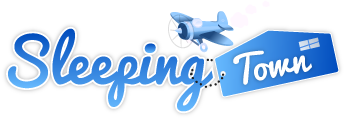 SleepingTown.com Logo